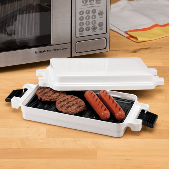 Microwave Griller Burger Griller Microwave Grill