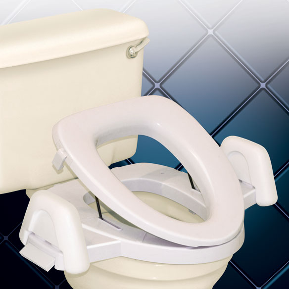 EZ Boost Toilet Seat - View 1