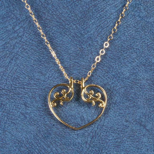 Heart Ring Holder Pendant