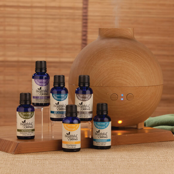 Healthful™ Naturals Starter Kit & 600 ml Diffuser