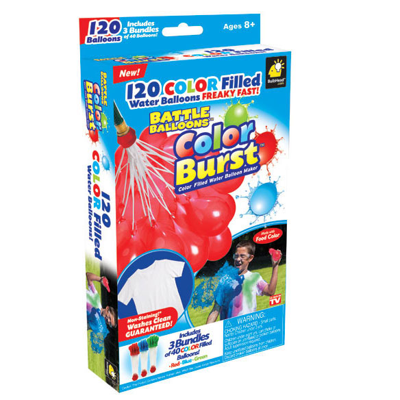 As Seen On TV Battle Balloons Colorburst™