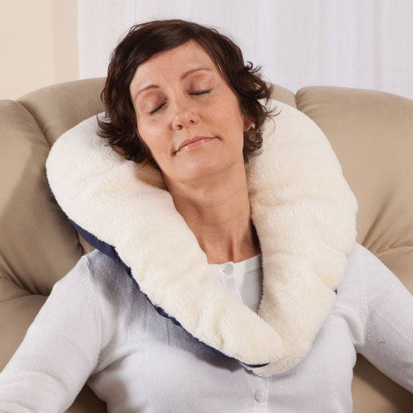 Sherpa C-Shaped Pillow
