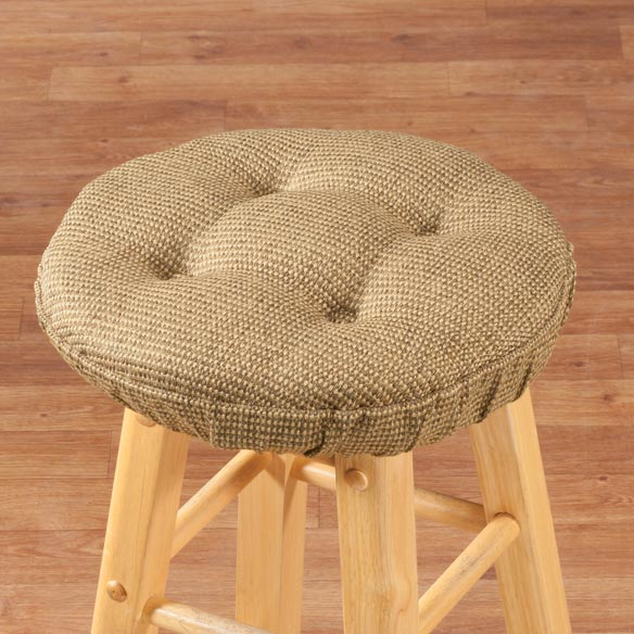 Classic Tweed Bar Stool Cushion