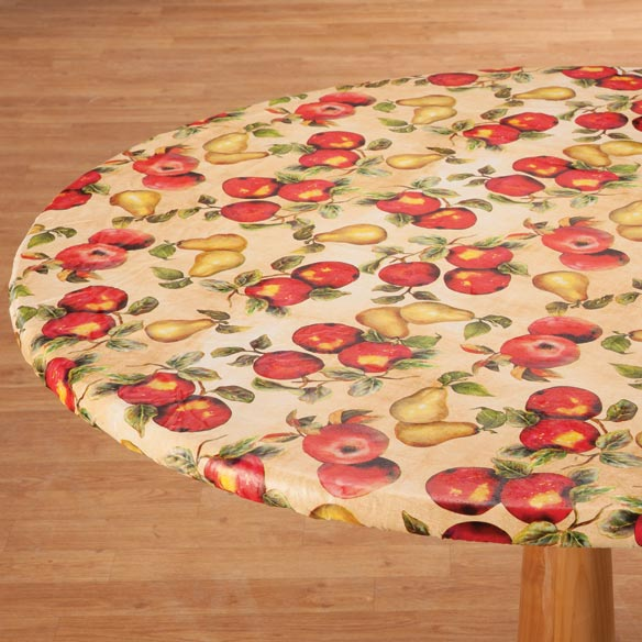 Fruit Vinyl Elasticized Table Cover