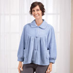 Comfort Clothing - Chenille Bed Jacket