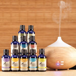 Essential Oils - Healthful™ Naturals Premium Kit and 280 ml Diffuser