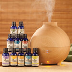 Essential Oils - Healthful™ Naturals Premium Kit and 600 ml Diffuser
