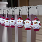 Decorations & Storage - Santa Solar Lights with Stake