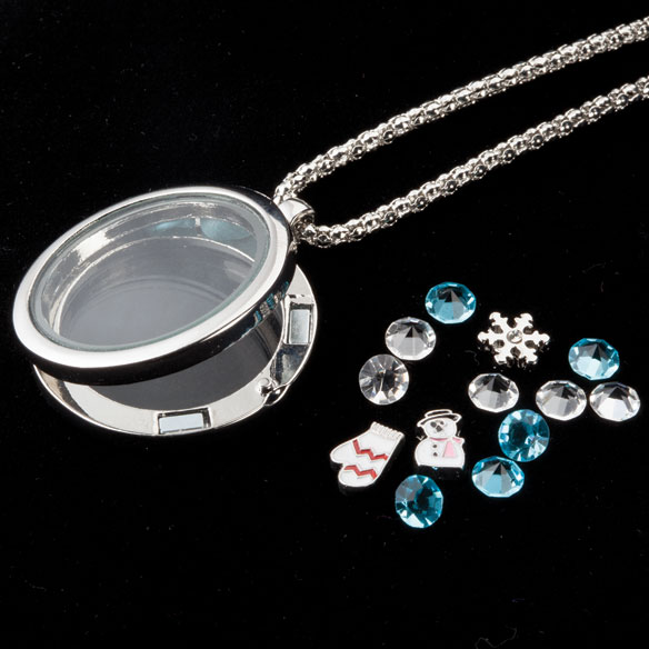 Frosty Charm Necklace