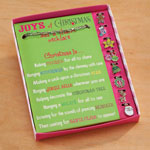 "Decorations & Storage - ""Joys of Christmas"" Add-a-Charm Necklace"