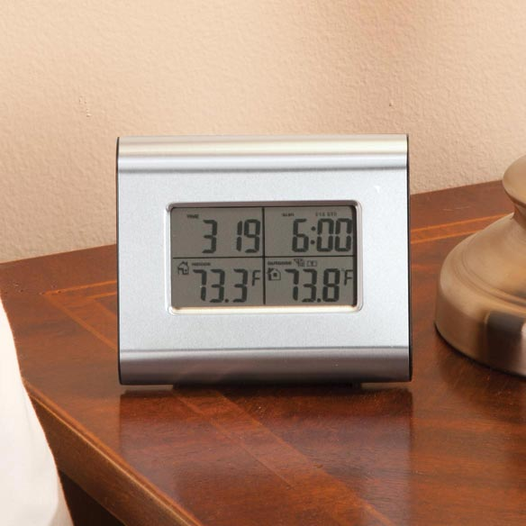 Wireless Weather Station Clock