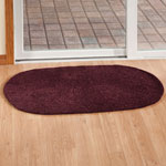 Decorations & Accents - Chenille Solid Reversible Rug