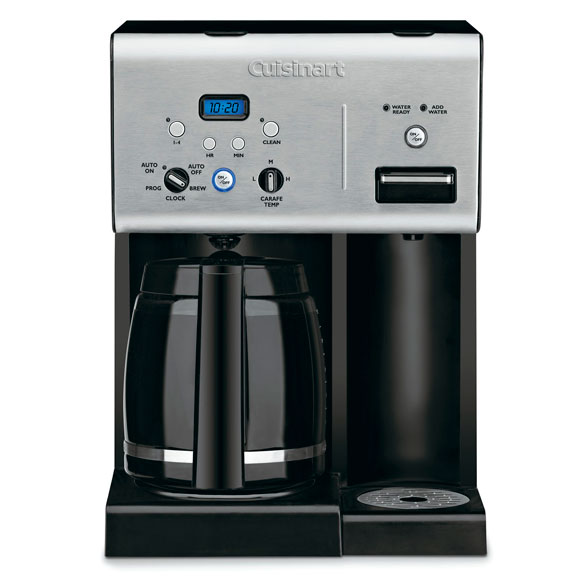 Cuisinart® Coffee Plus™ 12-Cup Programmable Coffee Maker - View 1