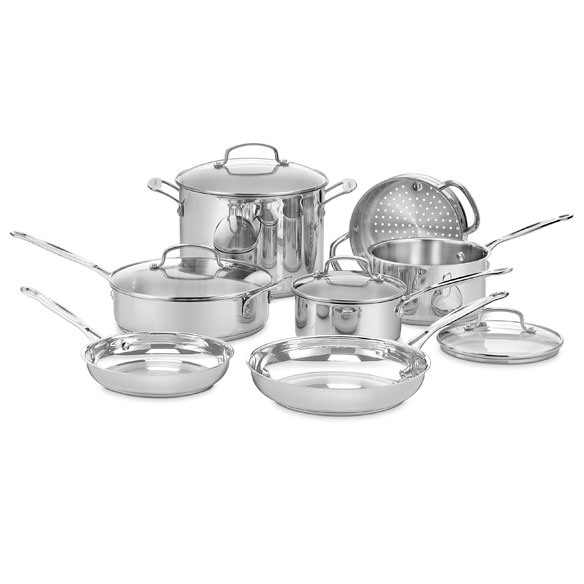 Cuisinart® Chef's Classic™ Cookware Set, 11 Pieces
