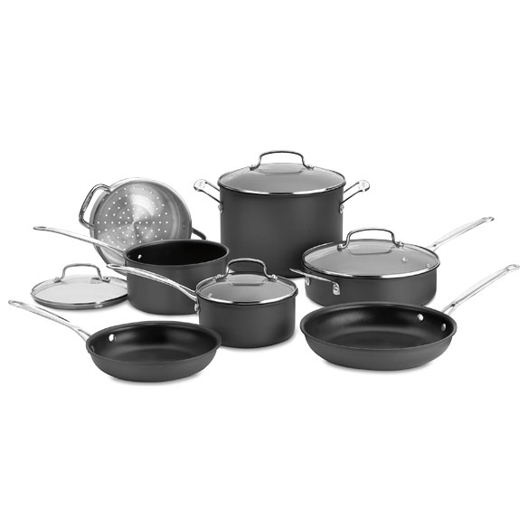 Cuisinart® Chef's Classic™ Non-Stick Hard Anodized 11-Piece Set