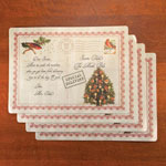 Decorations & Storage - Letters to Santa Vinyl Placemats, Set of 4