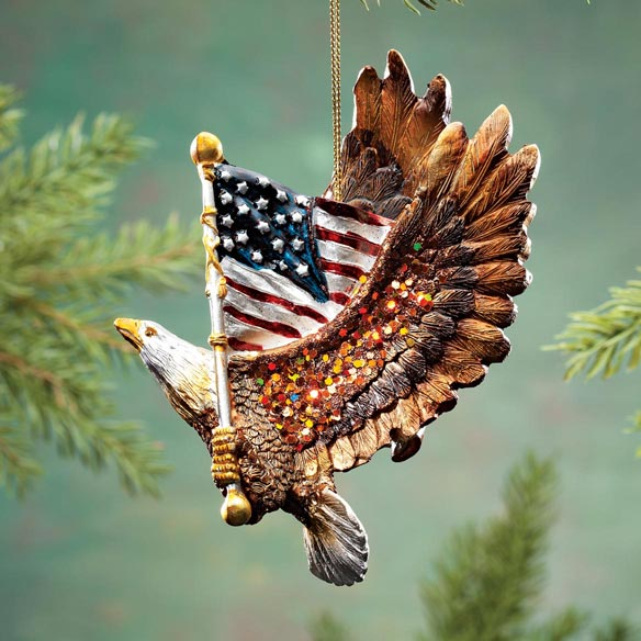 Patriotic Eagle Ornament