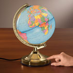 Home Office - Globe Touch Lamp