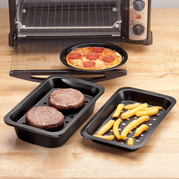 Toaster Oven Pans Set of 5 by Home-Style Kitchen™