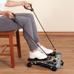 Exercise & Fitness - Seated Stepper with Resistance Bands