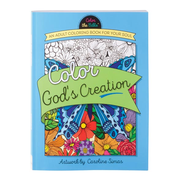 God's Creation Coloring Book - View 1