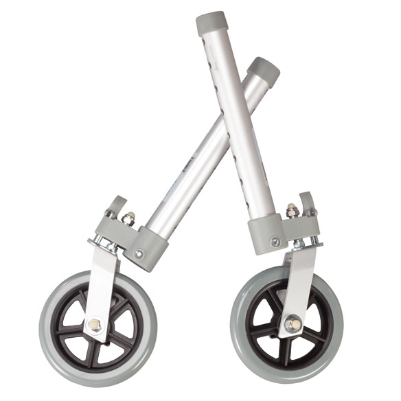 "Swivel Walker Wheels 5"", Set of 2"