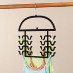 Clothes Care - Flocked Tank Top Hangers, Set of 2