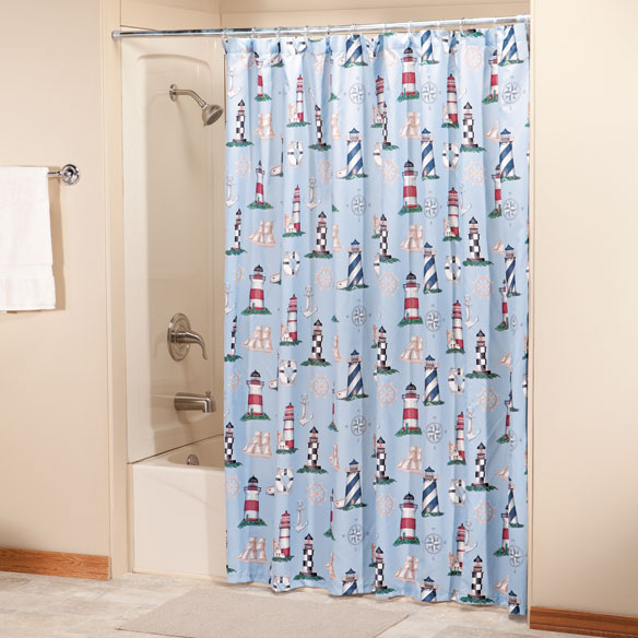Lighthouse Shower Curtain By OakRidge Comforts™   Zoom