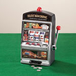 Gifts for Him - Large Slot Machine with Lights and Bank