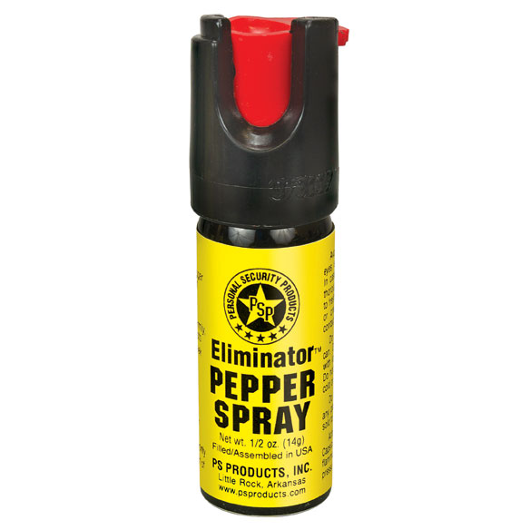 Eliminator™ MAX™ 1/2 oz. Pepper Spray with Case & Key Ring