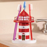 OakRidge Accents - Lighthouse Toothbrush Holder by OakRidge Accents™