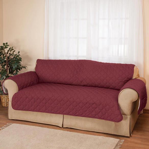 Deluxe Microfiber Sofa Cover by OakRidge™ - View 1
