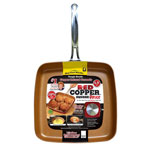Similar to TV Products - As Seen On TV Red Copper™ 9.5 Square Dance Pan