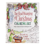 New - The Real Meaning of Christmas Coloring Book