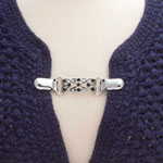 New - Decorative Sweater Clasp