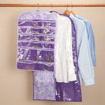 Gifts Under $10 - Lavender Garment and Jewelry Organizer, Set of 2