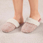 Footwear & Hosiery - Nordic Style Slide-On Slippers