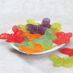 Candy & Fudge - Albanese Gummi Butterflies