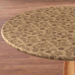 New - The Kathleen Vinyl Elasticized Table Cover
