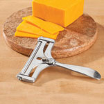Gadgets & Utensils - Adjustable Cheese Slicer