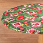 Home-Style Kitchen - Apple Patch Vinyl Elasticized Tablecovers by Home-Style Kitchen™