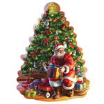 New - Big Christmas Tree Shaped Puzzle