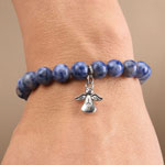 Exercise & Fitness - Weight Loss Bracelet with Angel Charm