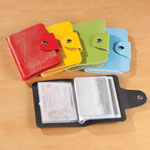 New - Colored Credit Card Holders, Set of 5