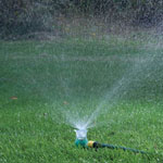 New - Color Changing Sprinkler