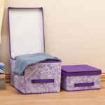 New - Lavender Storage Boxes, Set of 2