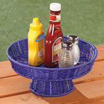 Outdoor Entertaining - Wicker Pedestal Stand