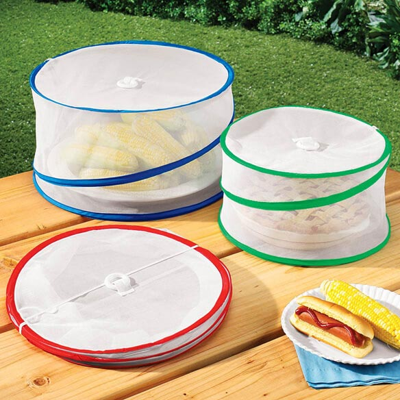 Pop-Up Food Tents - Set of 3