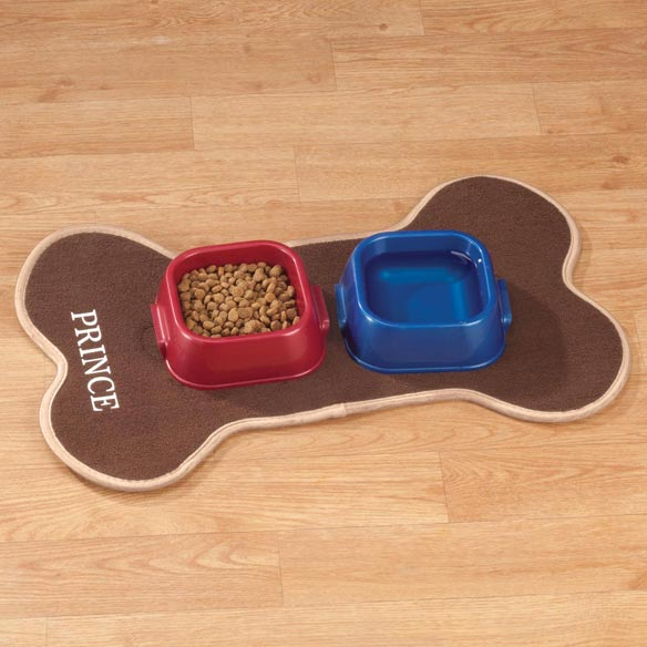 Personalized Pet Feeding Mat - View 1