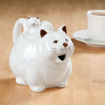Kitchen - Cat Teapot by Home-Style Kitchen™